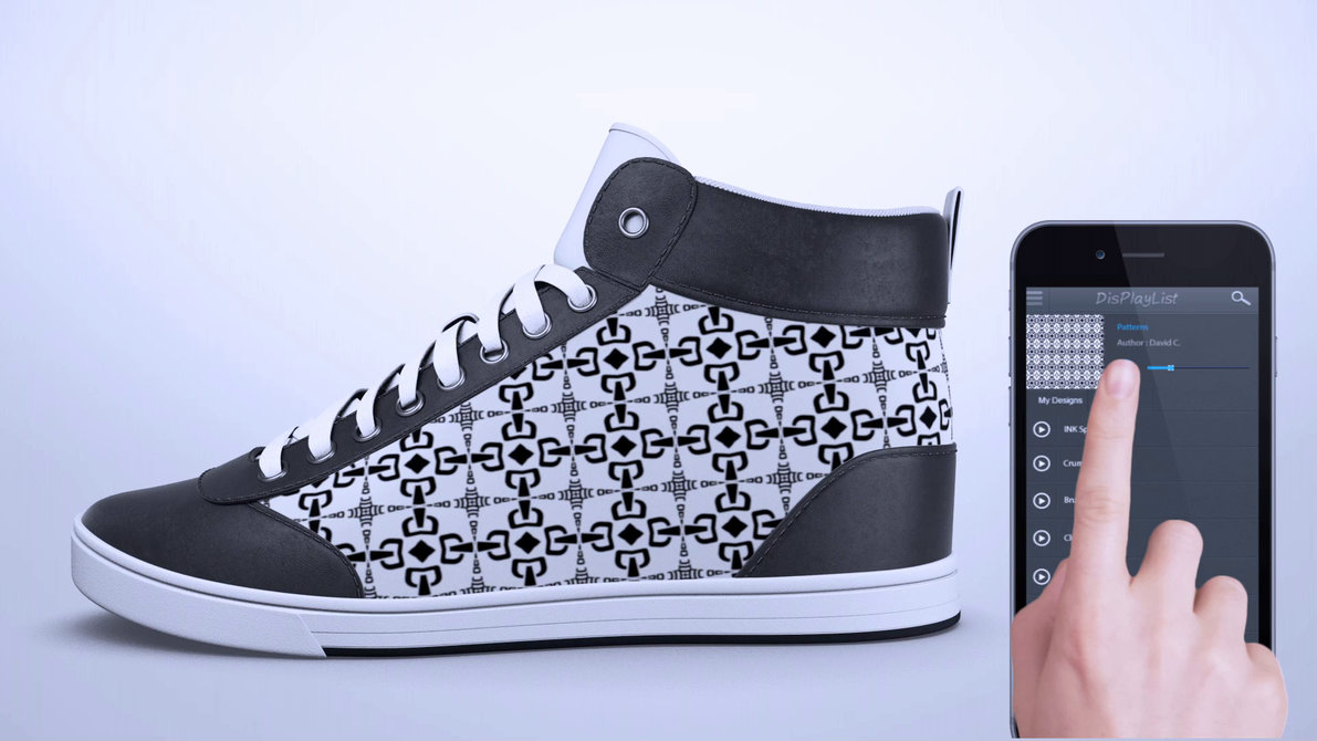 28c55326018 Lab-alpha7 » E-ink sneakers that change as often as you do